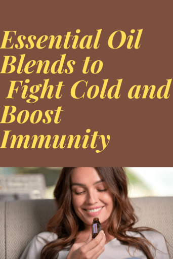 Essential oil recipes for cold and flu
