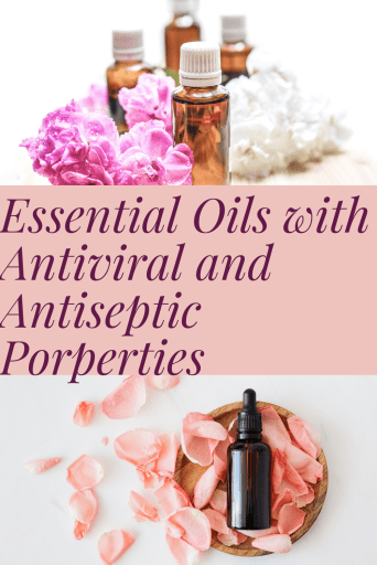 Antiseptic and antiviral essential oils