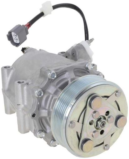 2002 Honda Civic Ac Compressor : honda, civic, compressor, Compressor,, Civic, 02-05, 1.7L,, 3-Wire, Connector, Replacement, REPH191168 