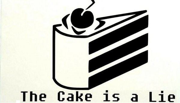 The Cake İs A Lie