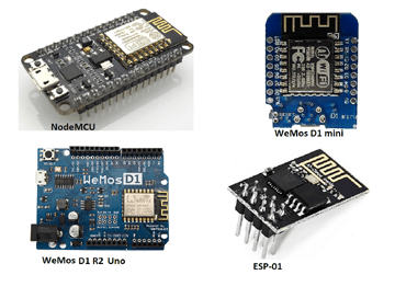 ESP8266 Development Boards Programming with Arduino IDE