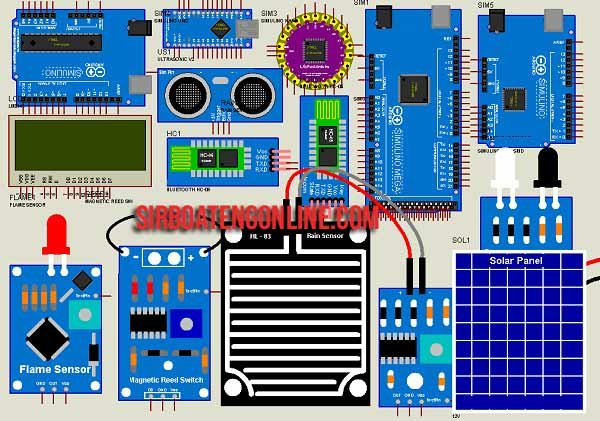 Arduino Sensor Libraries for Proteus Simulation (Updated)