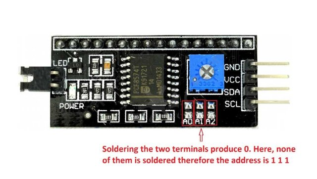 how to connect multiple LCD to Arduino using I2Cbackpack