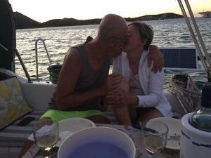 Claudia e Alberto, crociera in barca a vela alla Maddalena