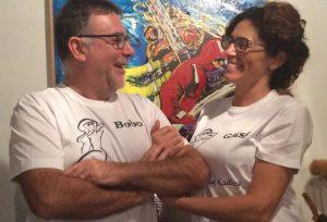 Grazie a Tino e Carla per queste splendide magliette personalizzate!