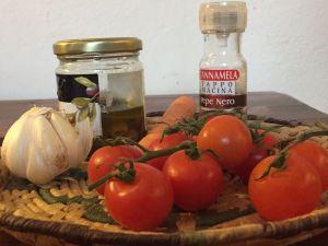 Gli ingredienti per la pasta Poissonniere