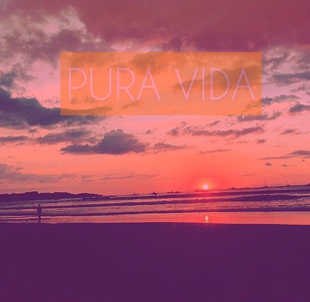 "The ""Pura Vida"" lifestyle in Cost Rica"