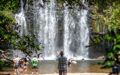 Cortez Waterfall and Waterslide Tour