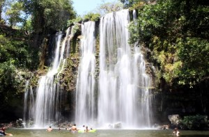 cortez waterfall and waterslide tour in costa rica