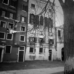 Venezia: Campo del Ghetto Nuovo - Sinagoga