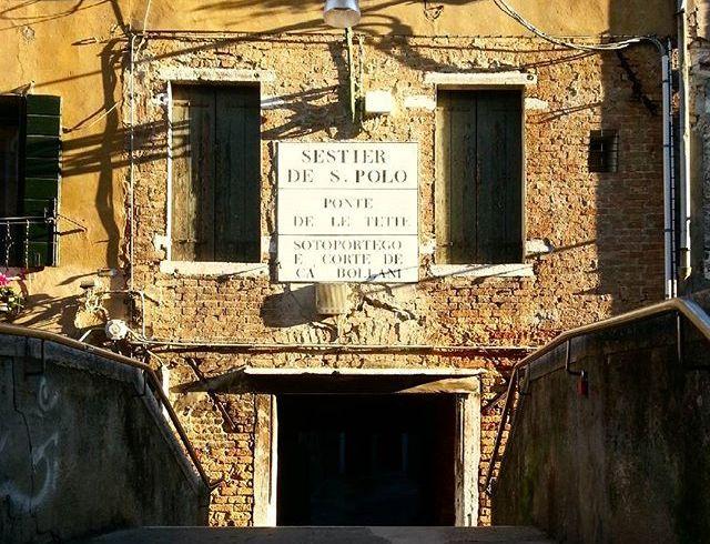 Venezia: Ponte delle Tette