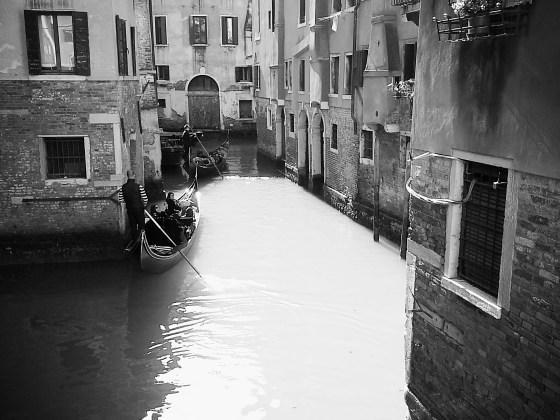 Venezia: Vista dal ponte vicino alla casa di Marco Polo
