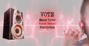 Get Out And Vote Penticton Ads