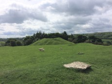 image of motte at Painscastle
