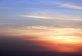 Sunset in Kitengela, Kenya.