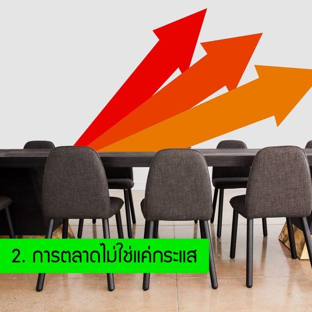 บทความการตลาด บทความธุรกิจ 10 สิ่งที่ควรเข้าใจในการทำการตลาด 2 การตลาดไม่ใช่แค่กระแส