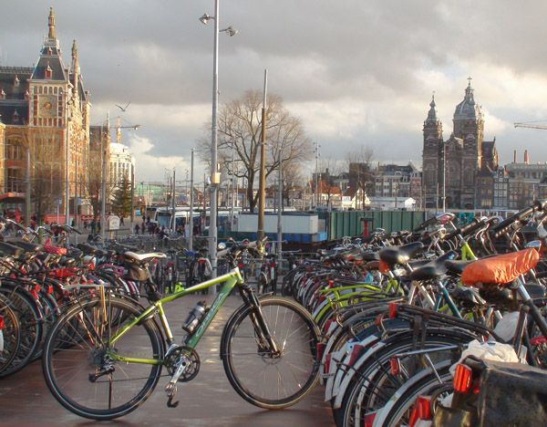 Kontxi, La Más Guapa De La Meca De La Bicicleta…Amsterdam