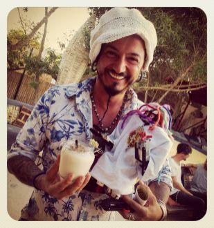 Eloy, artista del Cocktail Temple