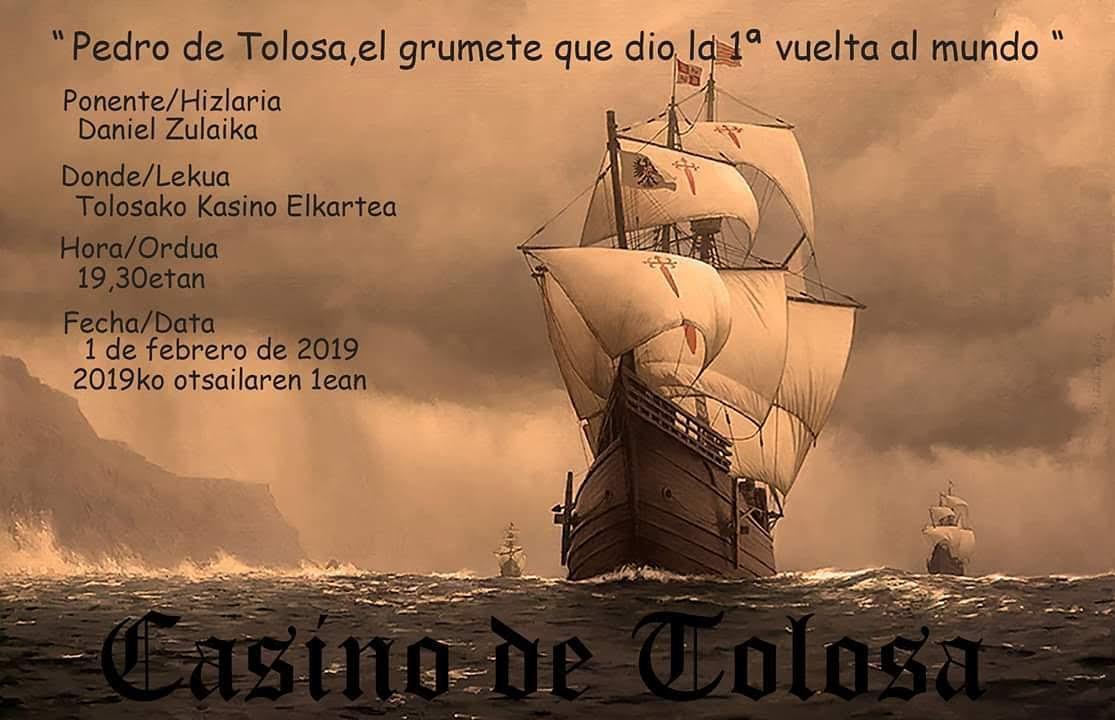 Pedro De Tolosa Y Las Trágicas Razones De Su Partida. En Astillero…