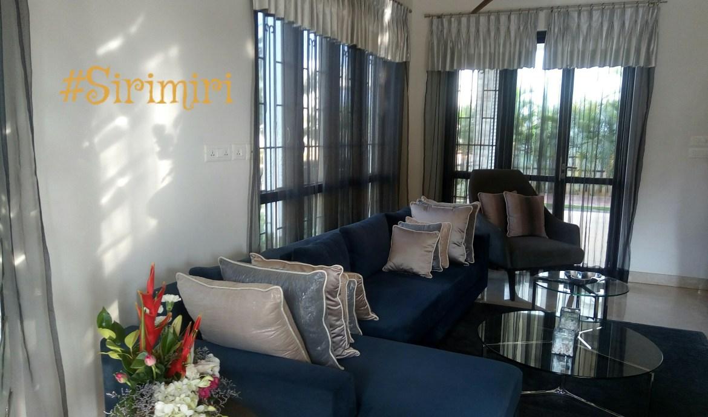 The Living Room of the Model Villa