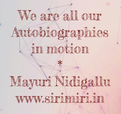 Autobiography-Sirimiri-Maytivation