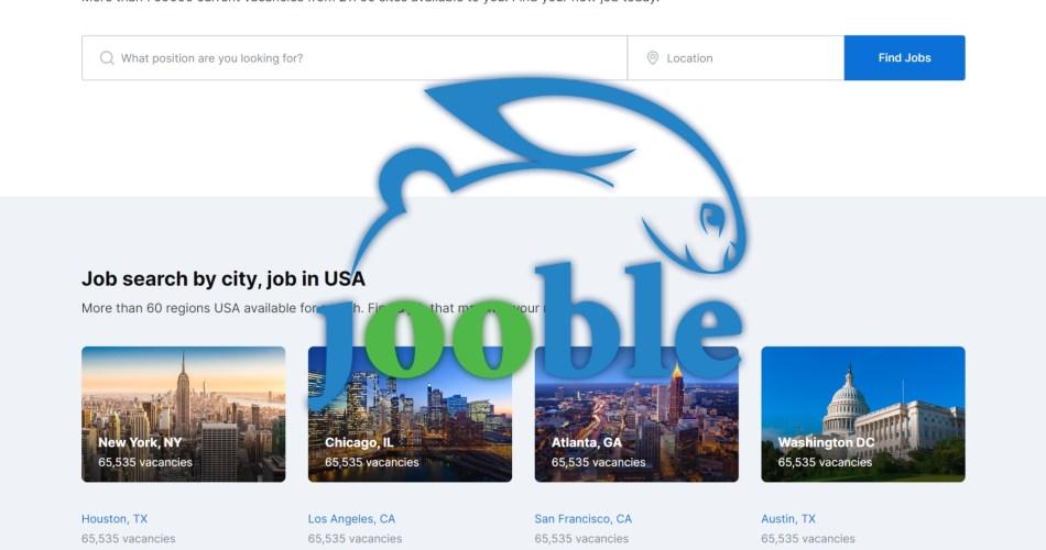 jooble job search engine