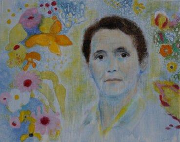 Portrait einer Dame