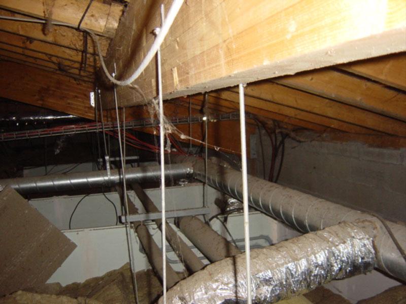 désinfection réseaux ventilation