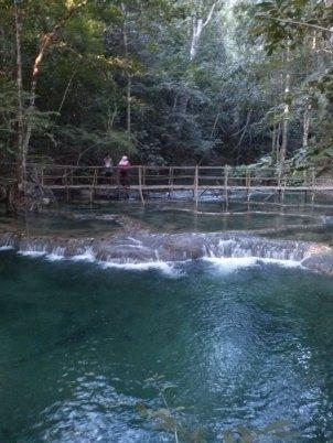 jembatan menuju waterfall