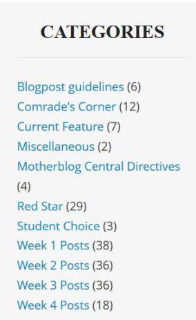 Categories10-2-13