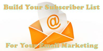 Email Marketing Subscriber List