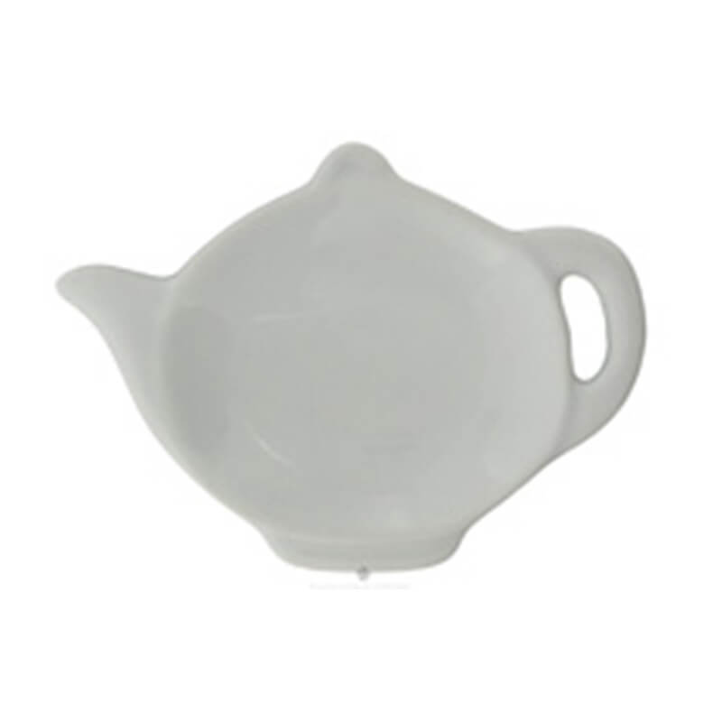 White Tea Bag Holder