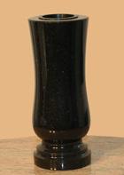 Fekete gránit váza