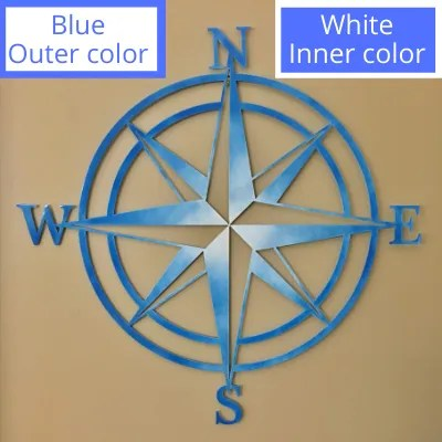 nautical star blue white room2