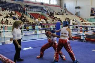 Şırnak'ta Türkiye Ferdi Kick Boks Şampiyonası tamamlandı