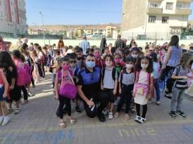 Cizre polisi eğitim öğretim yılının ilk gününde öğrencileri yalnız bırakmadı