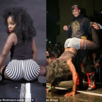 MUST SEE PHOTOS: Shameless Ladies Compete To Win £200 Price In A Twerk Competition
