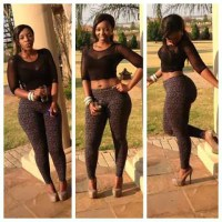 Photos: Nigerian Singer Skuki Peeshaun Falls In Love With A South African Dancer Popularly Called Miss Bum Bum