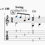 ミューズスコアでソロギターTab譜の作成_8 便利機能<1>音符入力の時短「いろんな