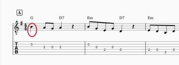 ミューズスコアでソロギターTab譜の作成_5-2