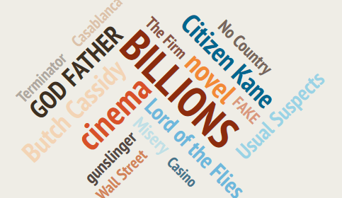 ビリオンズ-映画と小説
