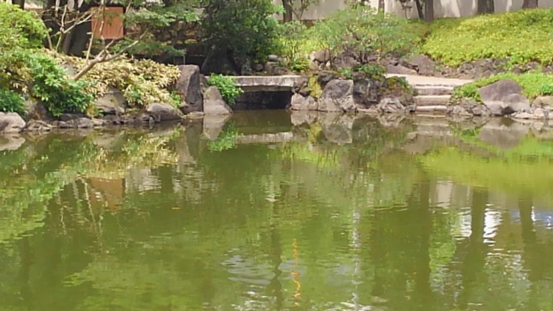 旧安田庭園_水門跡