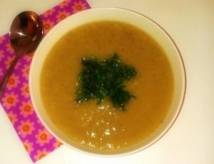 Leek and Caulifower Soup