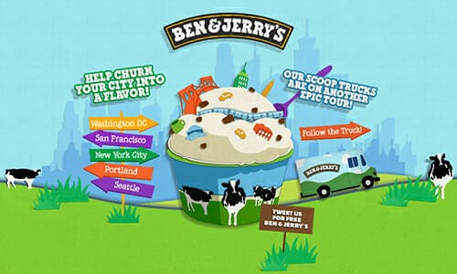 Manual de marca de Ben & Jerry's