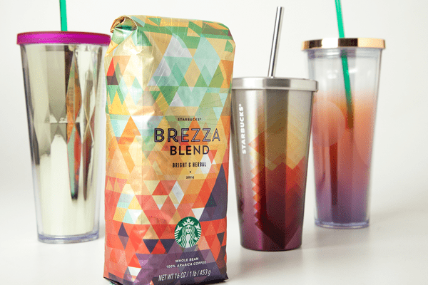 Sirope Packaging verano starbucks