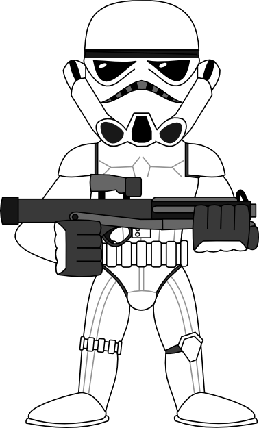 Storm Trooper Svg : storm, trooper, Drawing, Practice, Darth, Vader, Stormtrooper, Sirrob01