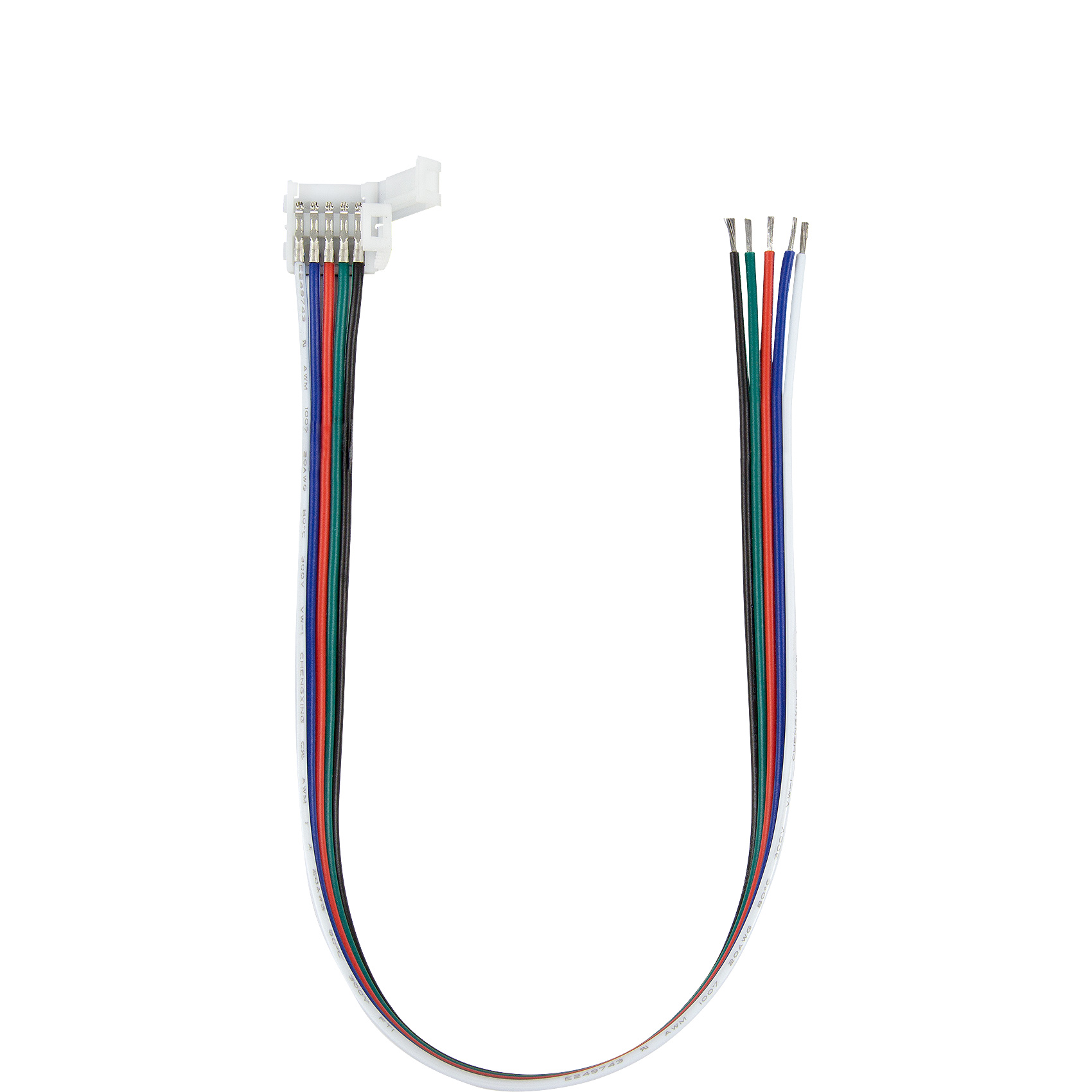 hight resolution of 5050 rgbw led strip coupler with lead or tail wires