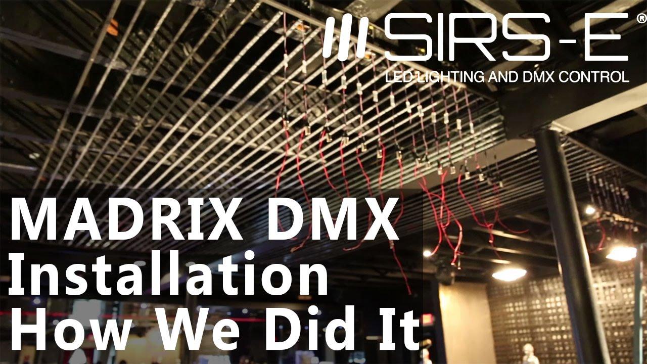 5050 led strip wiring diagram maytag dishwasher dmx rgb direct dmx512a pixel-by-pixel control