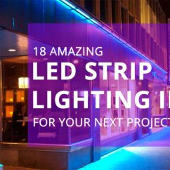 Wiring Diagram For Wall Lights 6w White Light Double Cob Led Switch Night Golf Cart Electrical System 18 Amazing Strip Lighting Ideas Your Next Project Sirs E