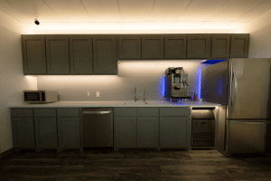 Kitchen Under Cabinet Lighting, SIRS E Break room   SIRS E®